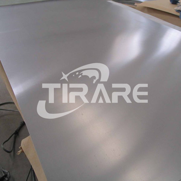 Titanium sheet for medical use