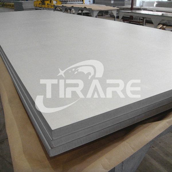 Titanium sheet for heat exchanger
