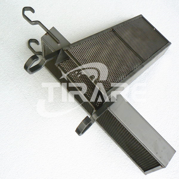 Titanium baskets electroplating
